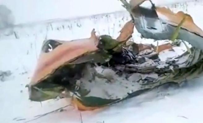 Rusya'da yolcu uçağı düştü!