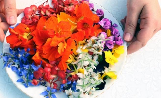Sevgiliye yenilebilir çiçek! Lüks restoran ve 5 yıldızlı oteller peşinde…