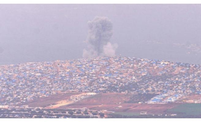Teröristler ateş altında... Cinderes'ten dumanlar yükseliyor