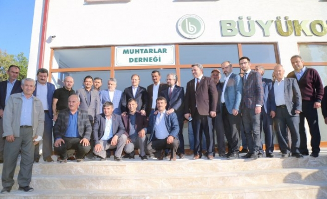 Alinur Aktaş'tan Harmancık'a müjde
