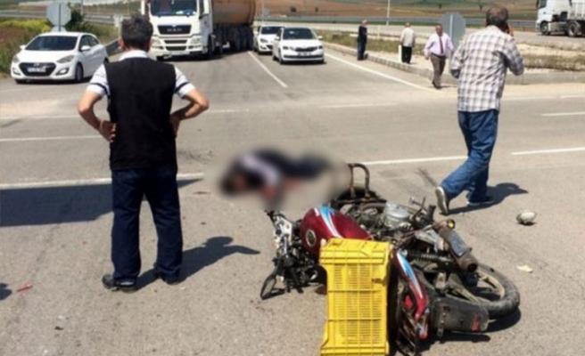 Bursa'da feci kaza! Kasksız sürücü...