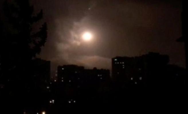 Flaş iddia! Suriye'ye ikinci hava saldırısı