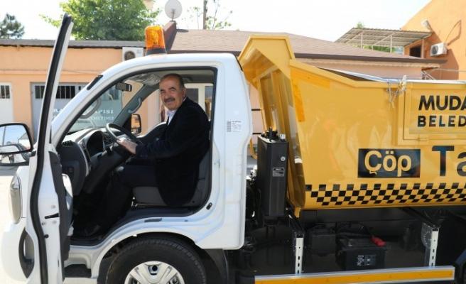 Mudanya'da 'Çöp Taksi' uygulaması başlıyor