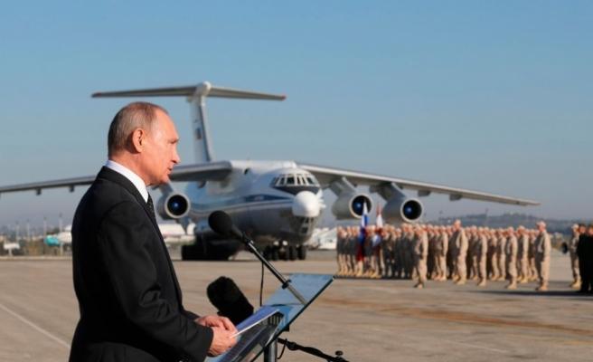 Putin'den Suriye operasyonuyla ilgili ilk açıklama!