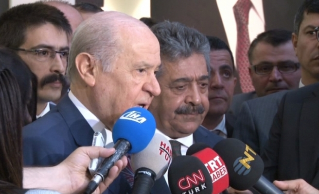 """Devlet Bahçeli'den CHP yorumu: """"Millet partinin önünde toplanacak..."""""""