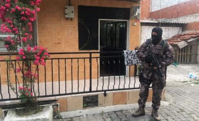 Bursa'da 300 polisle şafak baskını!