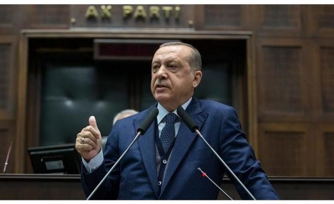"""Cumhurbaşkanı Erdoğan'dan Fransa'ya sert sözler: """"Biz sizler gibi aşağılık değiliz"""""""