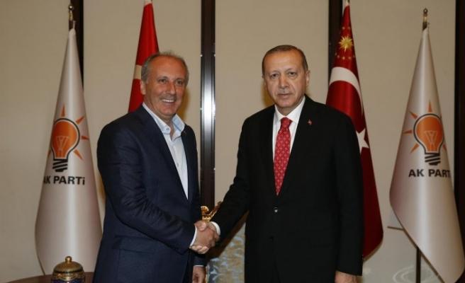 """Erdoğan ile İnce görüşmesinin detayları ortaya çıktı: """"Farklı aday tarifleri vardı ama..."""""""