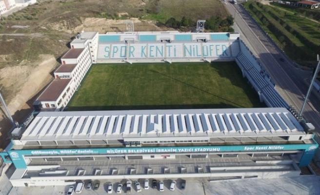 İbrahim Yazıcı Stadyumu'na görkemli açılış