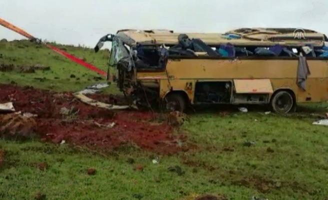 Korkunç kaza! 4 ölü, 22 yaralı