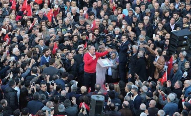 """Muharrem İnce'den liste açıklaması: """"Rahatlıkla sesimiz bile kısılamıyor"""""""