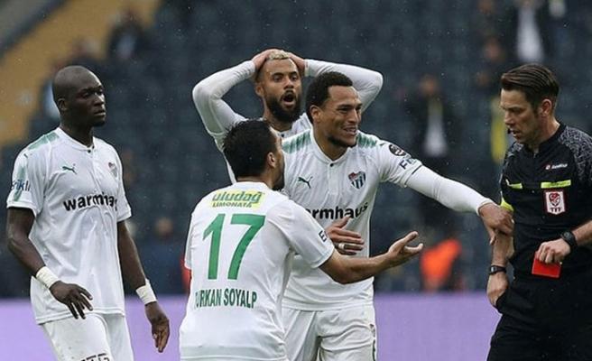 PFDK Bursaspor'a ceza yağdırdı!