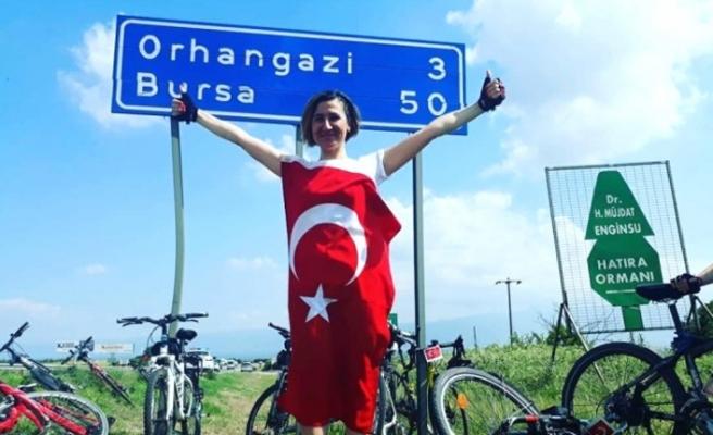 81 il gezecek bayrağın 13. durağı Bursa