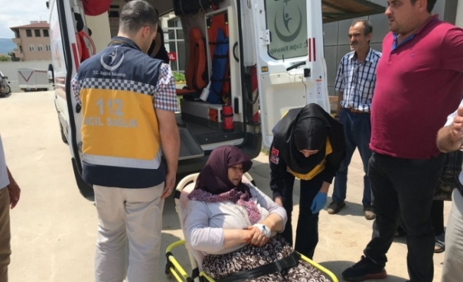 Bursa'da baltalı saldırgan yakalandı