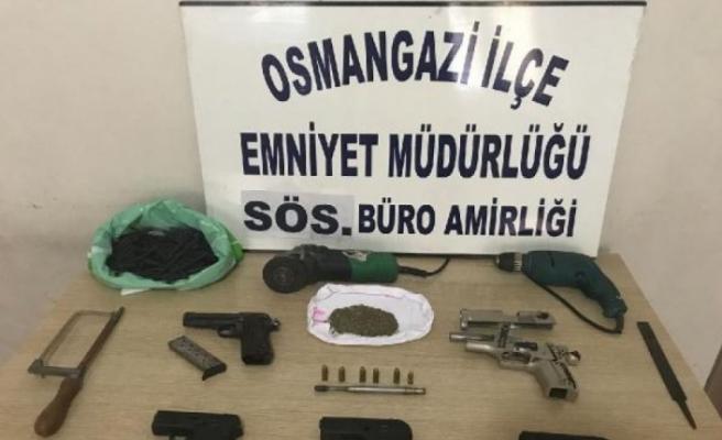 Bursa'da bir çete çökertildi