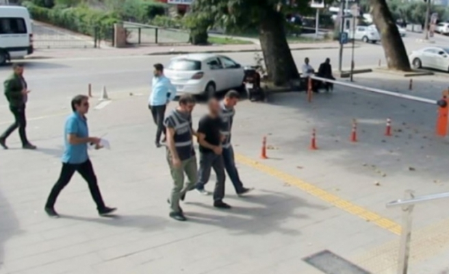 Bursa'da cezaevine girdi, mektupla tehdit etti