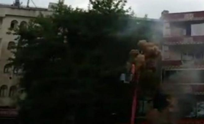 Bursa'da dehşet anları! Bomba gibi patladı!