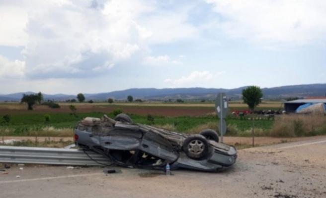 Bursa'da feci kaza! 5 aylık bebek yaşamını yitirdi