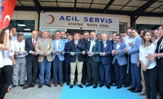 Bursa'nın yeni devlet hastanesi hizmete girdi