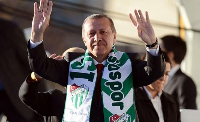 Cumhurbaşkanı Erdoğan pazartesi Bursa'da