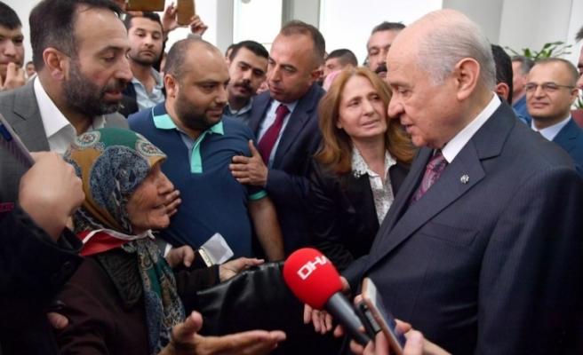 Devlet Bahçeli'den yeni af açıklaması!