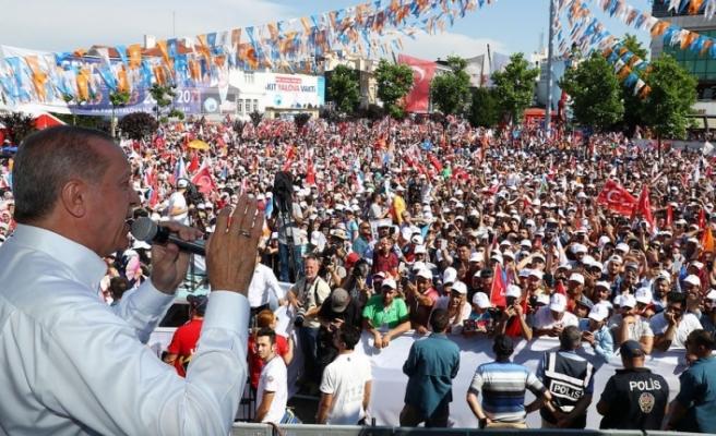 Erdoğan'dan İnce'ye köprü cevabı: Onları da bir dahaki bayrama...