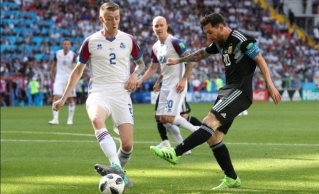 Fabrikadan izin aldı, Dünya Kupası'na gelip Messi'yi durdurdu