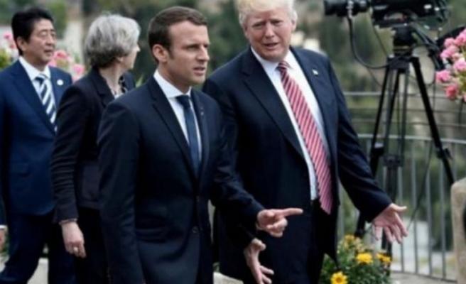 Fransa Cumhurbaşkanı Macron'dan tehdit