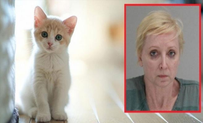 Kedisini döven kocasını öldürdü!