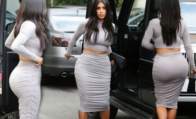 Kim Kardashian'a kötü haber! Büyük kalçalı kadınlar...