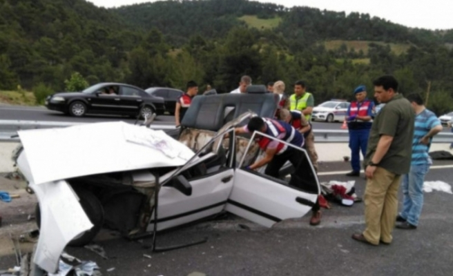 Trafik canavarı Bursa'da durmadı