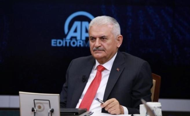 """Başbakan Yıldırım'dan flaş açıklamalar! """"Erdoğan telefonda ağladı"""""""