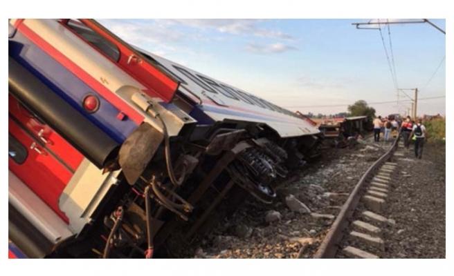 Tekirdağ'daki tren kazası ile ilgili önemli açıklama!