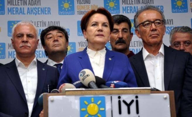 Akşener: Hükümetin yanındayız