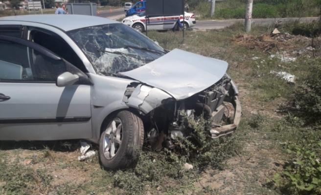 Bursa'daki ölüm kavşağında feci kaza: 9 yaralı
