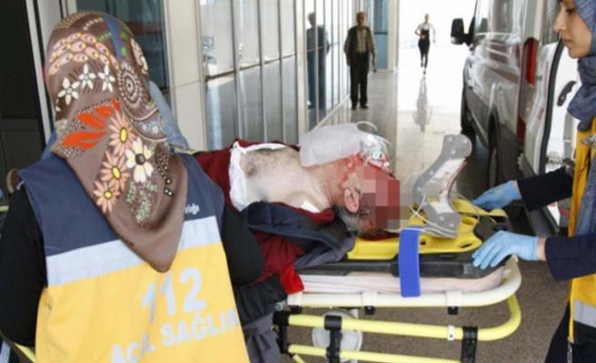 Bursa'da korkutan kaza! Minibüs motosiklete çarptı