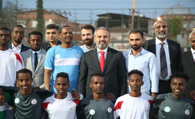 Bursa'da Somalili gençler turnuvasında şampiyon Karabük oldu
