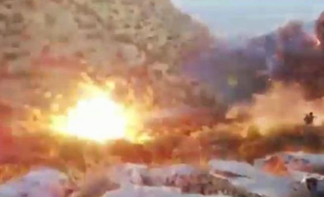 2 PKK'lının öldürüldüğü operasyon anları