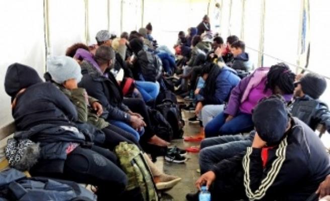 92 kaçak göçmen yakalandı