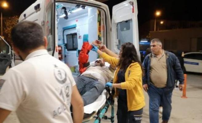 Bursa'da kolunu silindire kaptıran işçi yaralandı