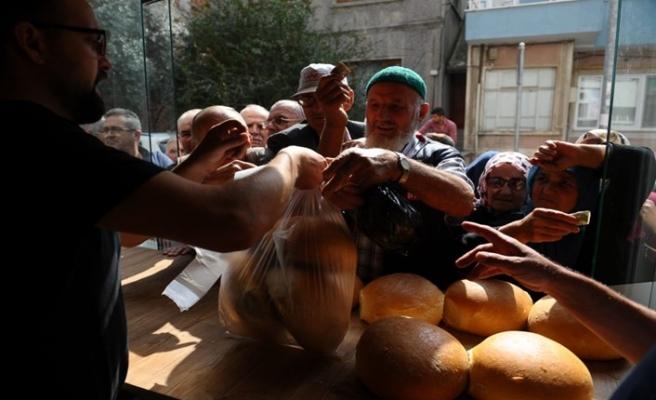 Bursa'daki o fırında ekmek zammına tepki gibi olay!