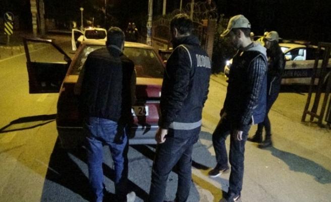 Bursa sokaklarında 'Çökertme' operasyonu!