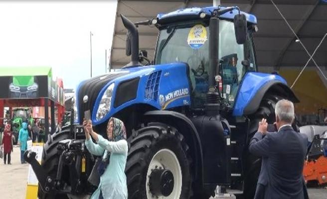 Bursa Tarım Fuarı'nın gözdesi traktörler oldu