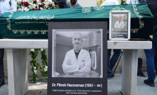 Hastası tarafından öldürülen doktor, gözyaşlarıyla uğurlandı
