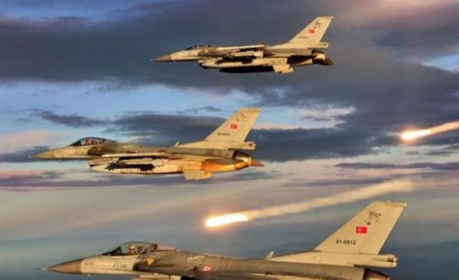 Kuzey Irak'a hava harekatı! Hedefler yok edildi
