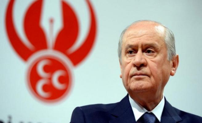 """MHP lideri Bahçeli: """"Bu vatanı kolay bulmadık, asla vazgeçmeyeceğiz"""""""