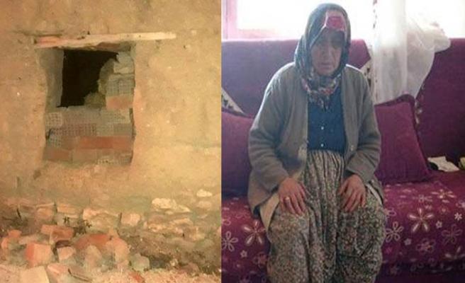 Yaşlı kadına dehşeti yaşattı, serbest kaldı