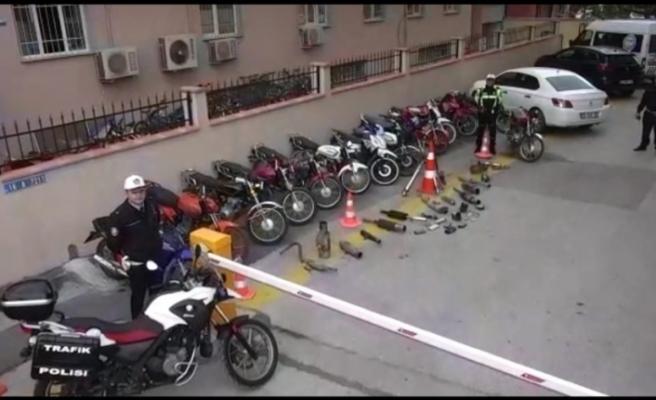 Bursa'da driftçilere ceza yağdı!
