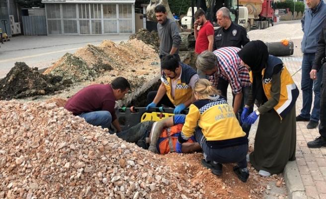 Bursa'da can pazarı! Yol çöktü...