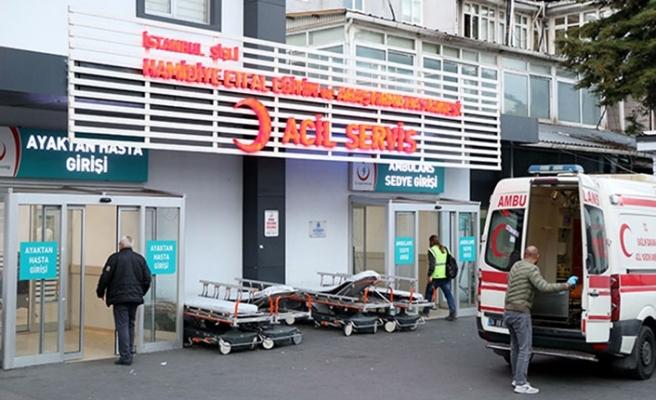 Hastane önünde dehşet! Sebebi ise...